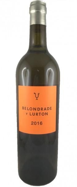 Belondrade y Lurton 2016 Weißwein