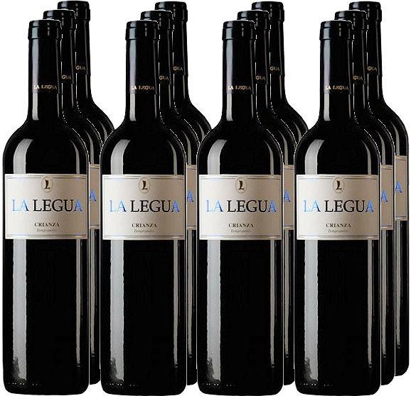 12 Flaschen La Legua Crianza 2010 (11+1 Angebot)