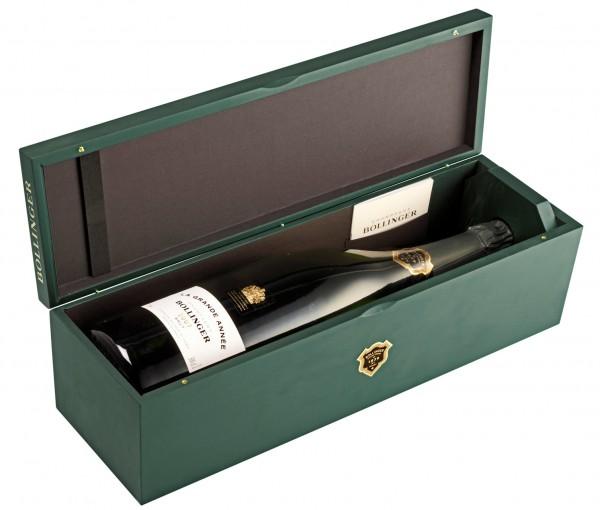 Bollinger La Grande Année 2007 DOPPELMAGNUM Champagner in Holzkiste