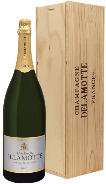 3,0l Champagne Delamotte Brut Jeroboam in Holzkiste (Champagner)