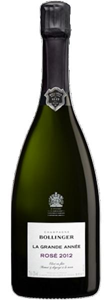 Bollinger La Grande Année 2012 Rosé Champagner