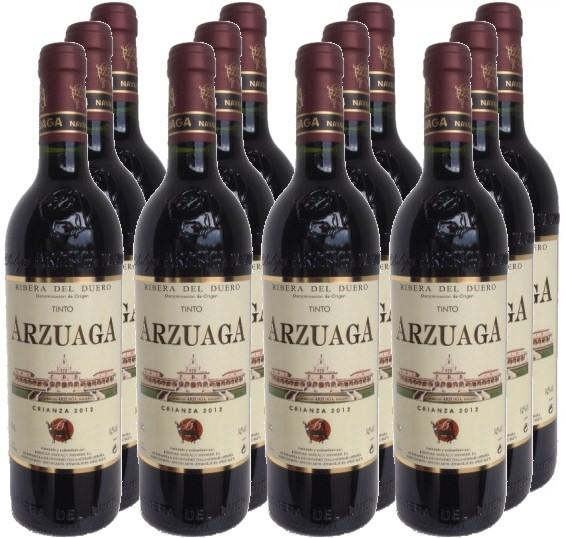 12 Flaschen Arzuaga Crianza 2014 (11+1 Angebot)