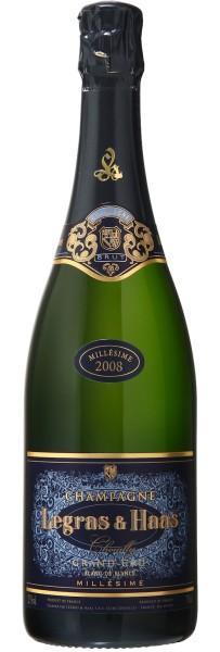 Legras & Haas Cuvée Anniversaire Blanc de Blancs Mill. Grand Cru 2006, Champagner