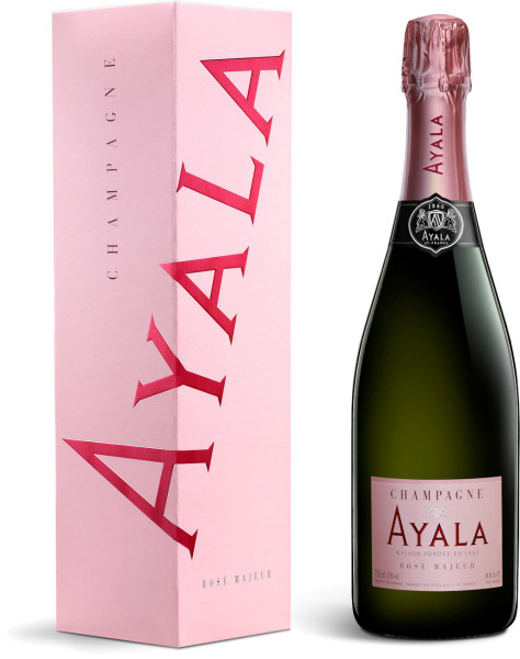 Ayala Rosé Majeur Champagner in Geschenkverpackung