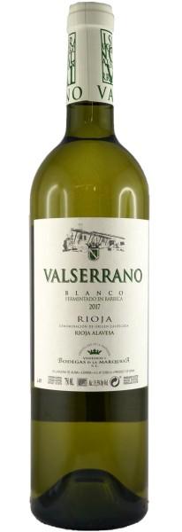 Valserrano Blanco Barrica 2017 (Weißwein)