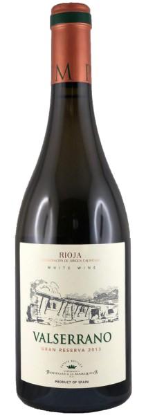 Valserrano Blanco Gran Reserva 2013 (Weißwein)