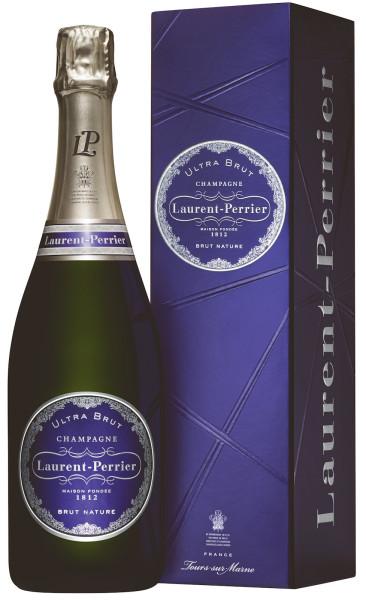 Laurent-Perrier Ultra Brut Champagner mit Geschenkpackung