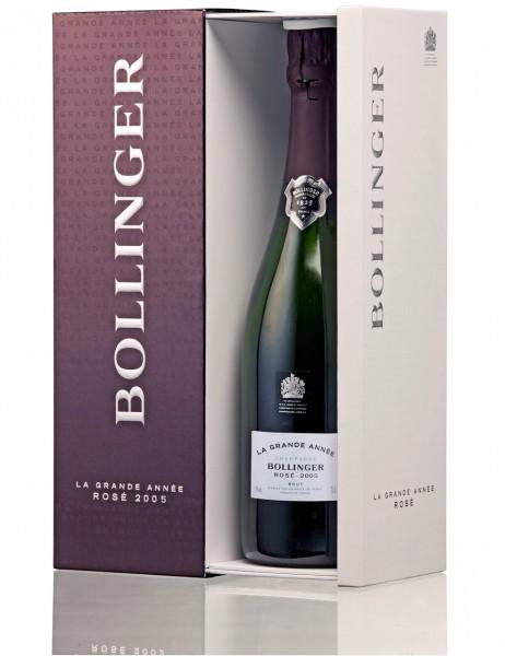 Bollinger La Grande Année 2007 Rosé Champagner im Geschenkkarton