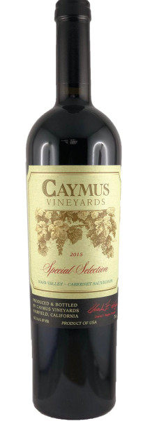 Caymus Cabernet Sauvignon Special Selection 2015 Rotwein
