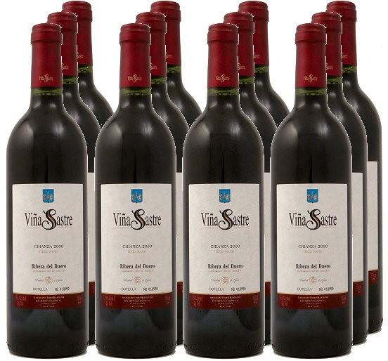 12 Flaschen Vina Sastre Crianza 2010 (Hermanos Sastre) (11+1)