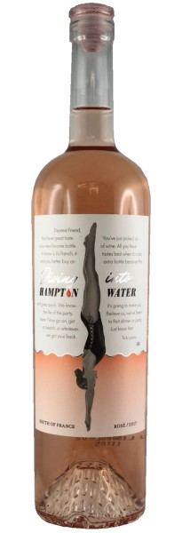 Diving into Hampton Water Rosé 2018 MAGNUM (Roséwein)