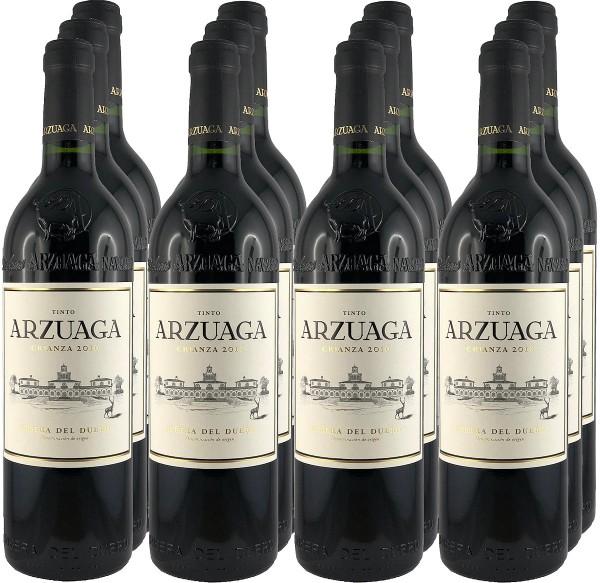 12 Flaschen Arzuaga Crianza 2016 (11+1 Angebot)