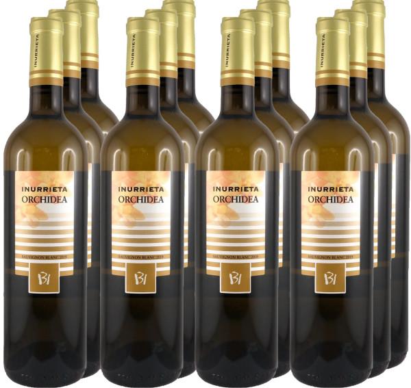 12 Flaschen Inurrieta Orchidea Sauvignon Blanc 2019 (Weißwein)