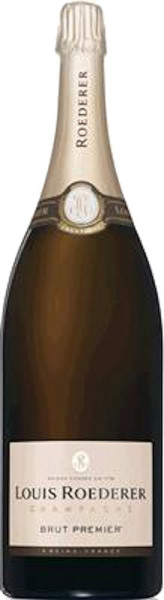 Louis Roederer Brut Premier Jeroboam Champagner in Holzkiste
