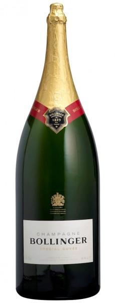 Bollinger Spécial Cuvée 12-Liter-Flasche in Holzkiste (Balthazar)