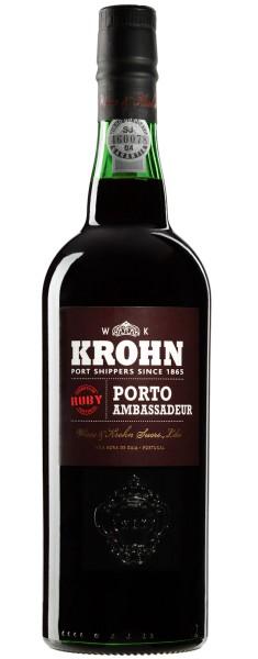 Krohn Ambassador Ruby Demi 0,375l (Portwein)