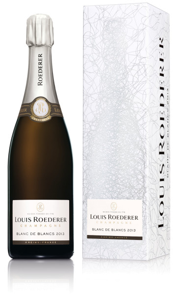 Louis Roederer Blanc de Blancs Vintage 2013 - Jahrgangschampagner Brut in Geschenkhülle Graphic