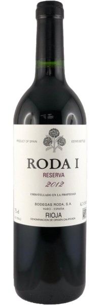 RODA I Reserva 2012 (Rotwein)