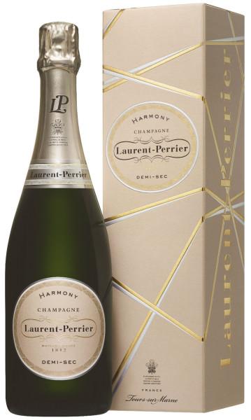 Laurent-Perrier Harmony Champagner demi-sec mit Geschenkpackung