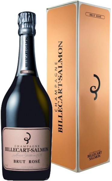 Billecart Salmon Brut Rosé 0,375l + Geschenkkarton - Rosé-Champagner