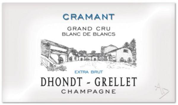 Dhondt-Grellet Champagner Cramant Grand Cru Blanc de Blancs Extra-Brut