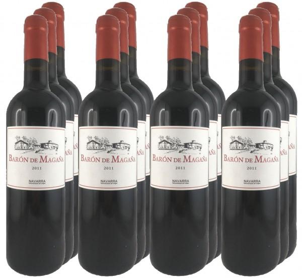 12 Flaschen Baron de Magaña 2011 (11+1 Angebot)