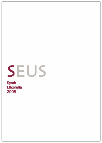 Odysseus Syrah 2008 Llicorella Magnumflasche