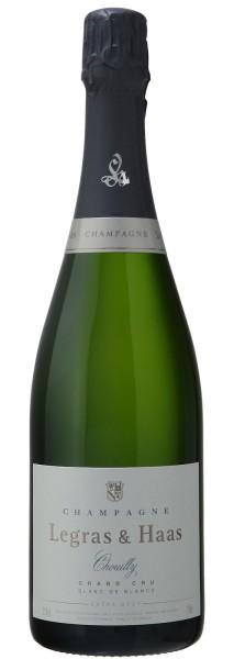 Legras & Haas Blanc de Blancs Grand Cru Extra Brut, Champagner