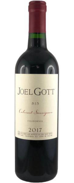 Joel Gott - Cabernet Sauvignon 815 Special Selection 2017