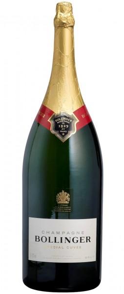 Bollinger Spécial Cuvée 6-Liter-Flasche in Holzkiste (Methusalem)