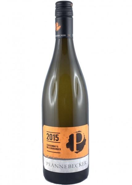 Pfannebecker, Chardonnay & Weißburgunder 2015 QbA