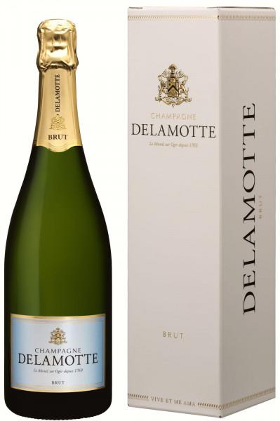 Champagne Delamotte Brut im Geschenkkarton (Champagner)
