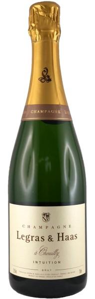 Legras & Haas Intuition Brut (ehem. Brut Tradition), Champagner 0,375l