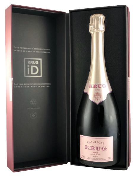 Krug Rosé - 24ème Édition (Champagner) im Geschenkkarton