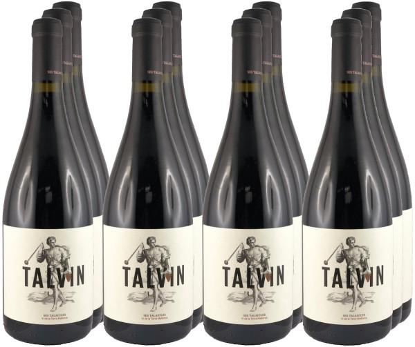 12 Flaschen Talvin 2016 (Rotwein) (11+1 Angebot)