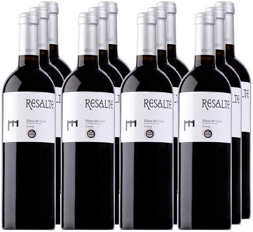 12 Flaschen Resalte Crianza 2014 (11+1 Angebot)