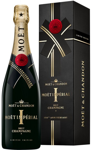 Moët & Chandon Brut Imperial 150 Anniversary Edition in Geschenkverpackung