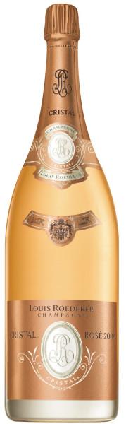 3l Louis Roederer Cristal Rosé 2009 Jeroboam 3l-Flasche