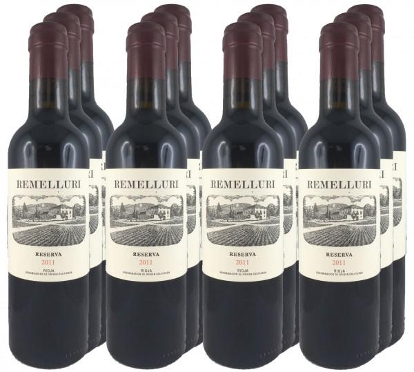 12 Fl. Remelluri Reserva 2011, 0,375l Flaschen (Rotwein)