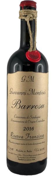 Barrosu Riserva Franzisca 2016 Cannonau, Giovanni Montisci, Italien
