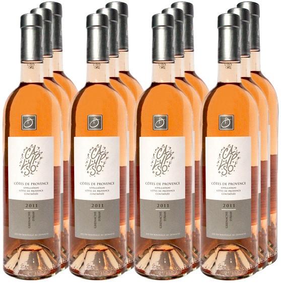 12 Flaschen Domaine de l'Anticaille Rosé Calypso 2015 (11+1 Angebot)