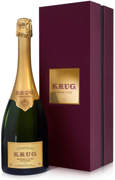 Krug Grande Cuvée - 168ème Édition im Geschenkkarton (Champagner)