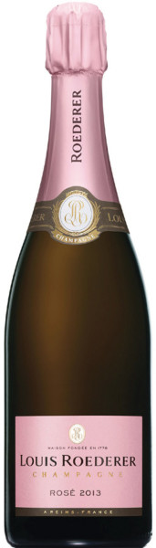 Louis Roederer Brut Rosé Vintage 2013 - Rosé-Jahrgangschampagner in Geschenkhülle Graphic