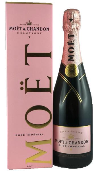 Moet & Chandon Rosé Impérial Champagner im Geschenkkarton