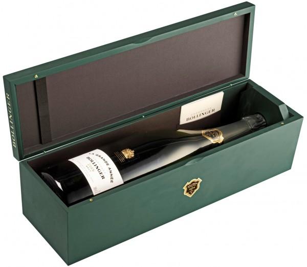 Bollinger La Grande Année 2005 DOPPELMAGNUM Champagner in Holzkiste