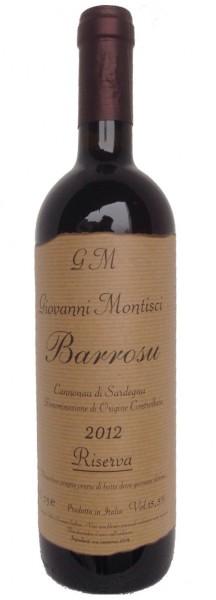 Barrosu Riserva 2012 Cannonau - Giovanni Montisci, Italien