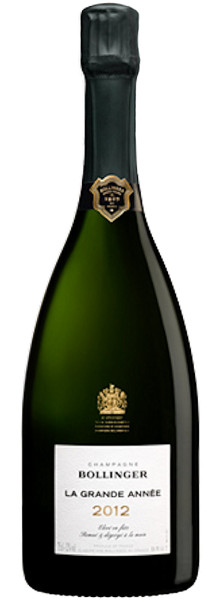 Bollinger La Grande Année 2012 Champagner