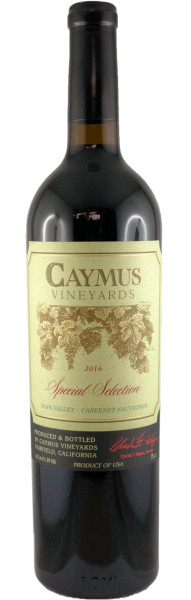 Caymus Cabernet Sauvignon Special Selection 2016 Rotwein