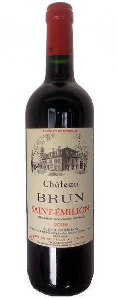 Chateau Brun 2006 Saint Emilion Bordeaux