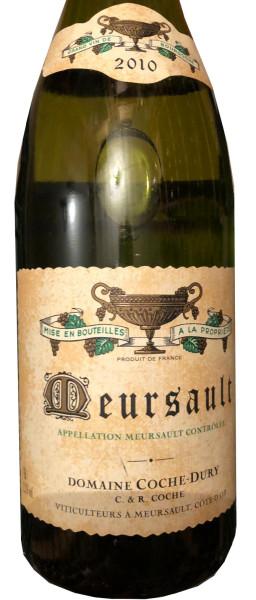 Domain Coche-Dury Meursault Blanc 2010
